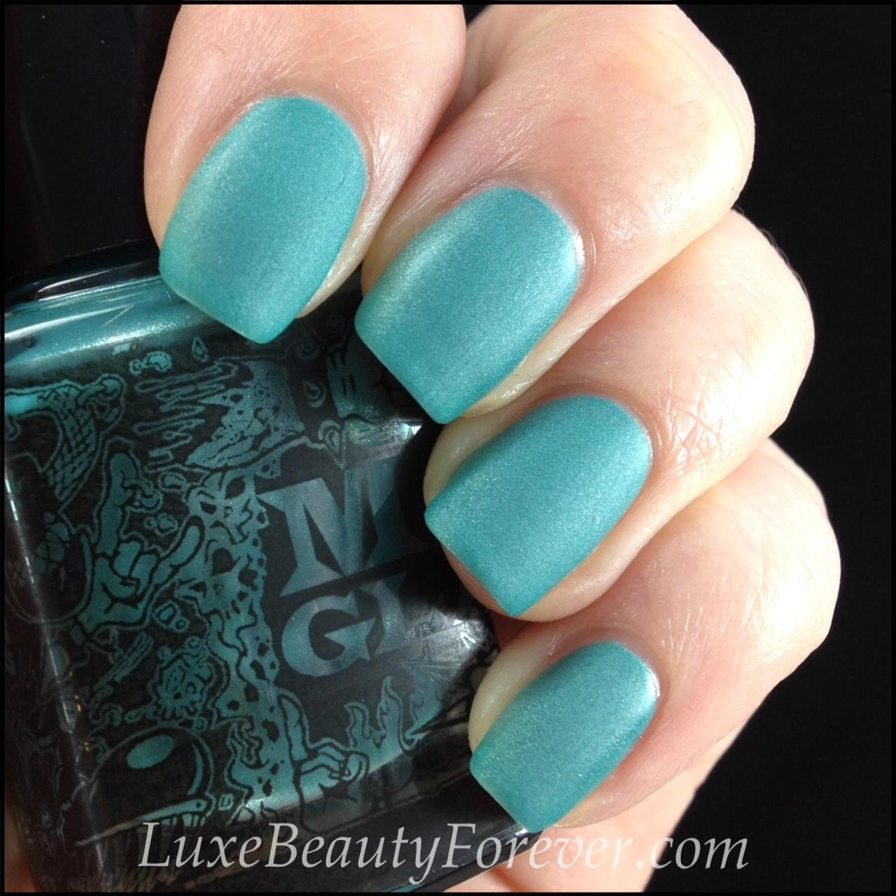 ManGlaze \'ILF\' Matte Nail Polish | Luxe Beauty Forever