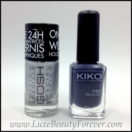 GOSH '548 Holographic Hero' & KIKO '381'
