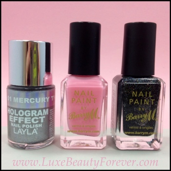 The polishes featured