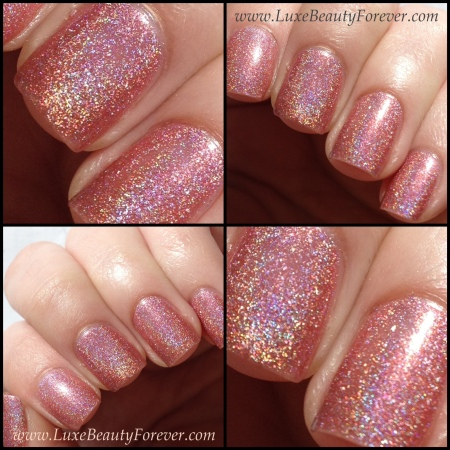 China Glaze 'Rated Holographic' in natural sunlight (see the holo effect?)