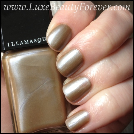 Illamasqua 'Bacterium' in natural sunlight