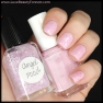 Essie 'French Affair' + Lynnderella 'Angel Food'