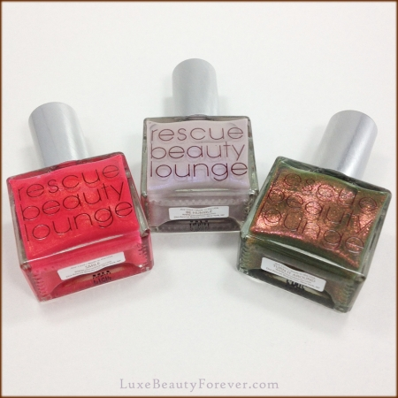 Rescue Beauty Lounge 'Smile', 'Be Humble', & 'Turn It Around'